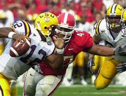 Alabama Crimson Tide vs. LSU Tigers Betting Predictions