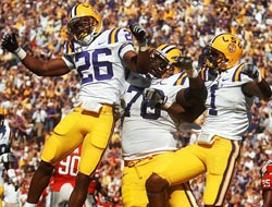 LSU Tigers at Washington Huskies Betting Odds at BSN Sports