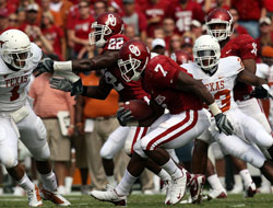 Oklahoma Sooners vs. Texas Longhorns Betting Lines