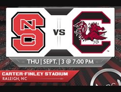 South Carolina  vs. North Carolina State Betting Odds & Stats at BSN Sports