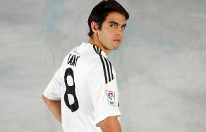 Kaka to use the number 8 at Real Madrid