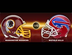 Washington Redskins vs. Buffalo Bills Latest Odds