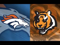 Bengals vs. Broncos NFL preseason betting odds