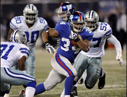 New York Giants vs. Dallas Cowboys Odds to Win