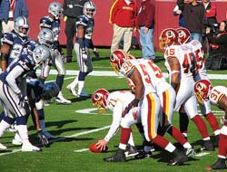 Washington Redskins vs. Dallas Cowboys Betting Odds & Stats