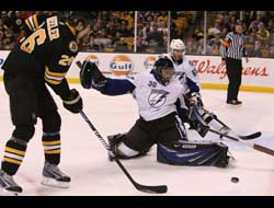 Eastern Conference Finals Game One: Tampa Bay Lightning at Boston Bruins