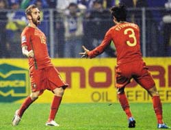 Portugal Soccer Advances World Cup 2010