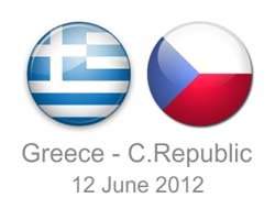 Greece vs. Czech Republic betting odds