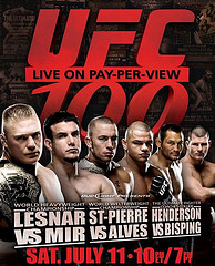 UFC 100, The Ultimate Fighting Championship at BSN Sports