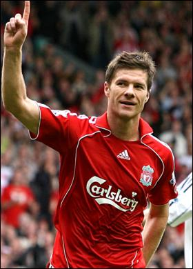 Liverpool and Real Madrid  agreement for the transfer of Xabi Alonso